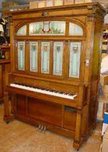 Exterior of the restored Cremona Orchestra J orchestrion.